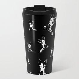 bull terrier dog Travel Mug