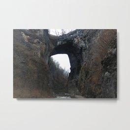 Natural Bridge Metal Print