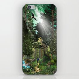 Forest Wisdom iPhone Skin