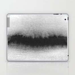 Black and White Horizon Laptop & iPad Skin