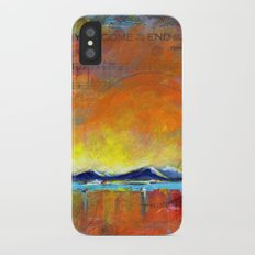 When you come to the end of the day iPhone X Slim Case