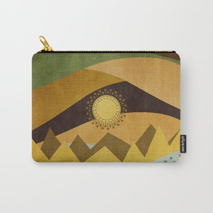 Color/Landscape 10 Carry-All Pouch