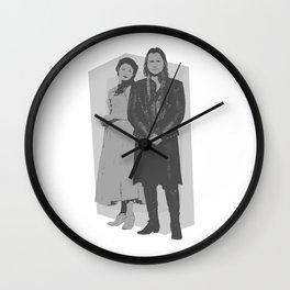 Monochrome Rumbelle Wall Clock