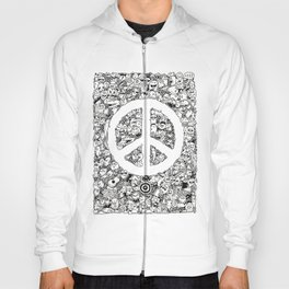 Peace Doodle Hoody