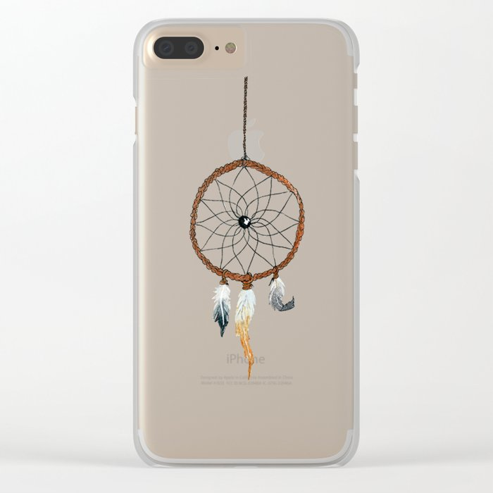 Chasing Dreams 2.0 Clear iPhone Case