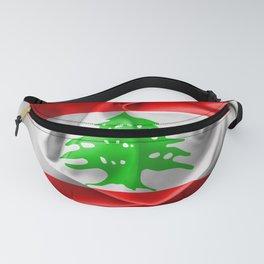 Lebanon Flag Fanny Pack