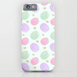 i love macron iPhone Case