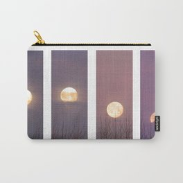 Phases of The Setting Moon Carry-All Pouch