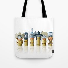 The Toon Bullets Tote Bag