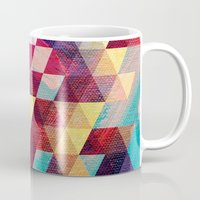 solid Mugs featuring Solid colors by Tony Vazquez