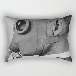 Classic gas mask Rectangular Pillow