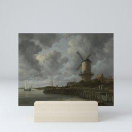 Jacob van Ruisdael - The Windmill at Wijk bij Duurstede Mini Art Print