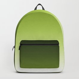 Olive ,green , Ombre Backpack