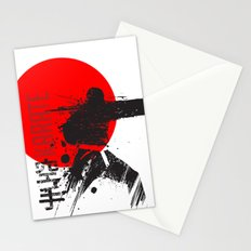 Karate Japan Stationery Cards
