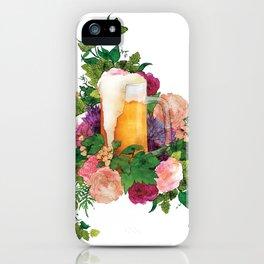 Beer Bouquet iPhone Case