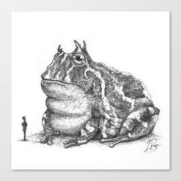 Tiddalik Canvas Print