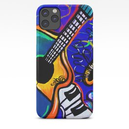 Carnival Jazz Painting iPhone Case