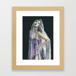 Purple Reign  Framed Art Print