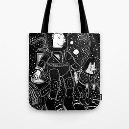 nostalgia espacial Tote Bag
