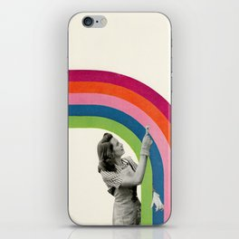 Paint a Rainbow iPhone Skin