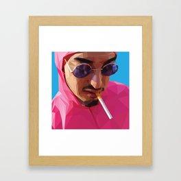 Pink Guy Framed Art Print