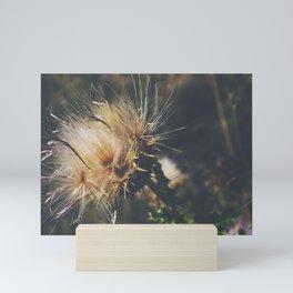 """""""Thistle Smack"""" Mini Art Print"""