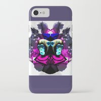 planet of the apes iPhone & iPod Cases featuring Crazy Apes by Jacob Overway