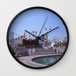 Expo 86 European Plaza Wall Clock