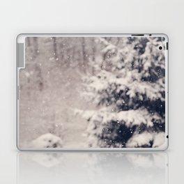 Softly Fallen Snow Laptop & iPad Skin