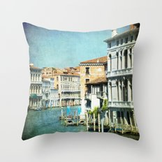 The Grand Lady - Venice Throw Pillow