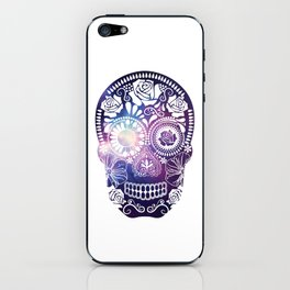 Mexican Skull Space V2 iPhone Skin