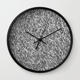 OCD and a Calligraphy Pen #5 Wall Clock