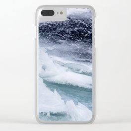 Frozen Bay Clear iPhone Case