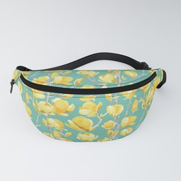 Yellow Magnolia Spring Bloom Fanny Pack
