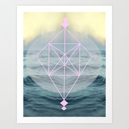 Oh those lovely colors Art Print