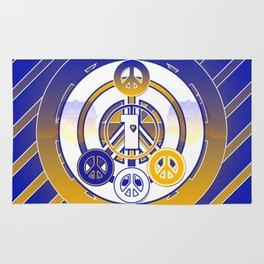 One Love (Blue) Rug