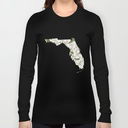 Florida in Flowers Long Sleeve T-shirt
