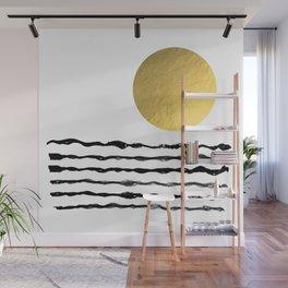 Sun and sea Wall Mural