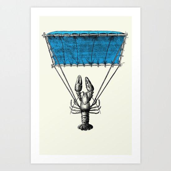Lobster Trooper Art Print