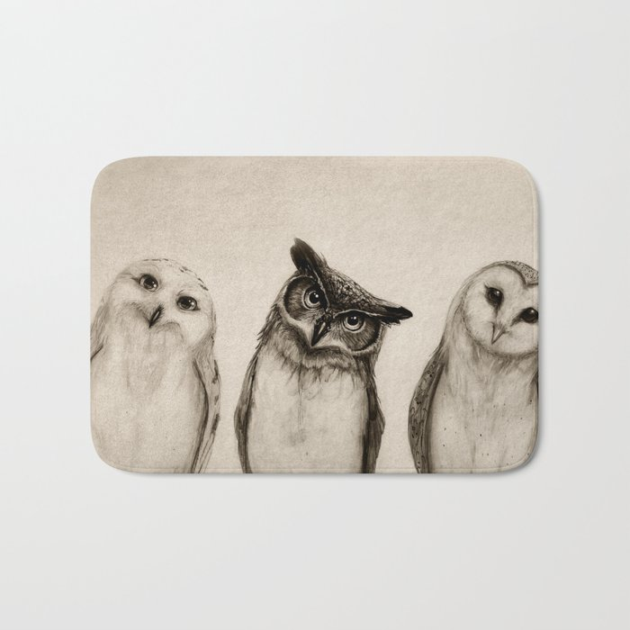 The Owlu0027s 3 Bath Mat Photo Gallery