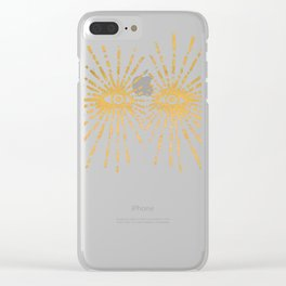 Starry Eyed Clear iPhone Case