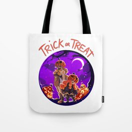 Trick or Treat - Jack 'O' lantern Tote Bag
