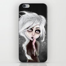 too dark to be sure iPhone & iPod Skin