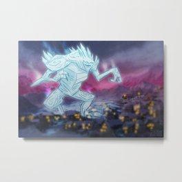 ICE TITAN Metal Print