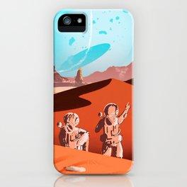 tardis space iPhone Case