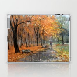 Autumn in the park # 2 Laptop & iPad Skin