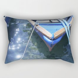 Italian boat Rectangular Pillow