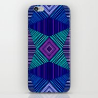 tapestry iPhone & iPod Skins featuring Tapestry  by Truly Juel