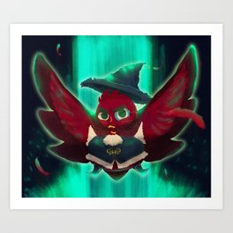 bird bard Art Print