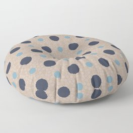 Wonky Circles in Fantastic Output Floor Pillow